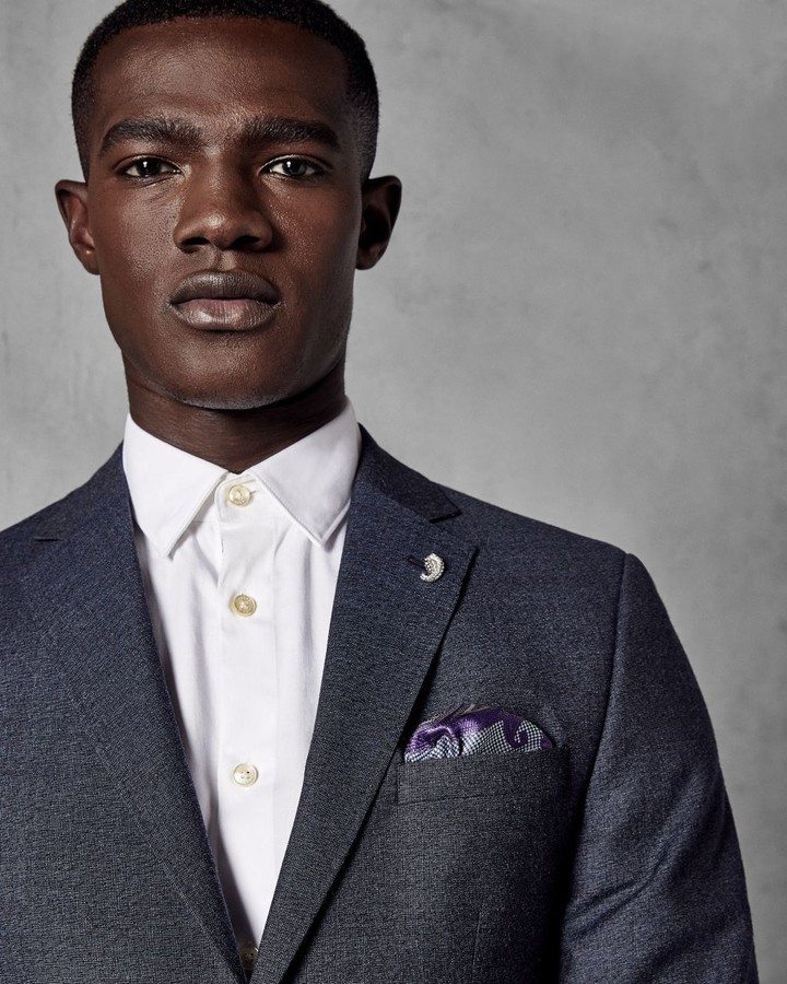 Ted Baker Sterling Semi Plain Suit Jacket