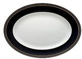 Vera Wang Wedgwood With Love Noir Oval Platter