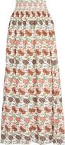 Tory Burch Kara floral-print silk maxi skirt