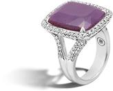 John Hardy Magic Cut Ring with Blue Sapphire and Diamonds