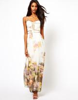Little Mistress Maxi Dress in Floral Print