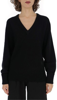 Chloé V-Neck Knitted Sweater