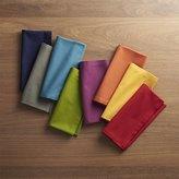 Crate & Barrel Spectra Cloth Dinner Napkins, Set of 8
