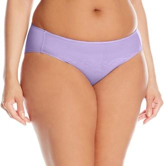 Natori Women's Plus-Size Smooth Scroll Full Bikini