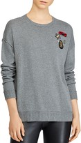 Lauren Ralph Lauren Embellished Crewneck Sweater