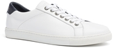 Tommy Hilfiger White Leather Sneaker