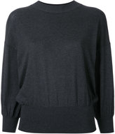 Enfold balloon sleeve sweater - women - Cotton - 38