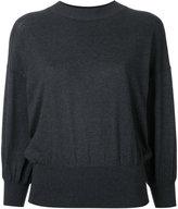 Enfold balloon sleeve sweater - women - Cotton - 40