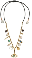 Lizzie Fortunato Anastasia Charm Necklace