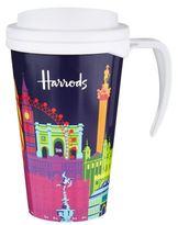 Harrods Bright London Travel Mug