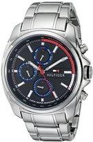Tommy Hilfiger Men's 1791081 Analog Display Quartz Silver Watch