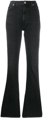 Citizens of Humanity Georgia high-rise flared jeans