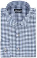 Unlisted Men's Slim-Fit Easy-Care Broadcloth Gingham Dress Shirt