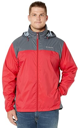 Columbia Big Tall Glennaker Lake Jacket (Mountain Red/Graphite) Men's Coat