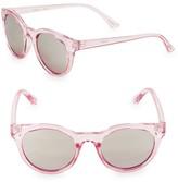 Girl's Fizz Translucent Round Sunglasses