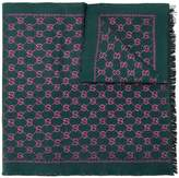 Gucci GG Jacquard monogram scarf