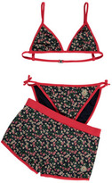 Moncler Floral 2 Piece Swimming Costume