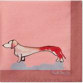 Paul Smith Dog-print Silk Pocket Square