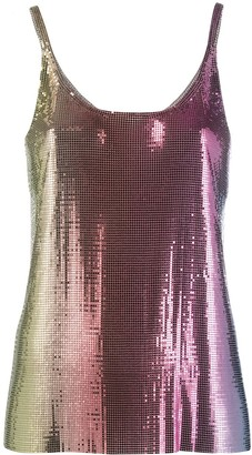 Paco Rabanne Degrade Chainmail Camisole