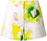 Iceberg tie dye shorts - women - Cotton/Spandex/Elastane - 38