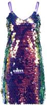 New Look GO LARGE SEQUIN SLIP Cocktail dress / Party dress multicolor