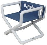 Hoohobbers Personalized Jr. Director's Chair/Booster - Denim (Canvas)