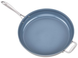 """Zwilling J.A. Henckels Spirit Ceramic Stainless Steel Non-Stick 14"""" Fry Pan"""