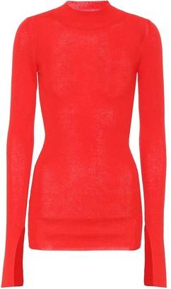 Stella McCartney Cotton and alpaca-blend sweater