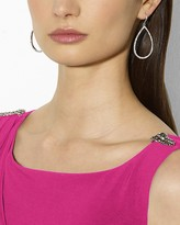 Lauren Ralph Lauren Gown - Boat Neck Sleeveless Pin Shoulder