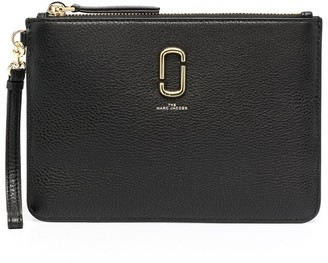 Marc Jacobs The Softshot leather wristlet