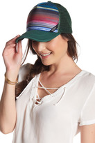 San Diego Hat Company Striped Trucker Cap
