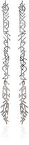 Fallon Hieroglyph Silver-Tone Earrings
