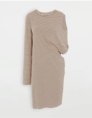 MM6 MAISON MARGIELA Multi-Wear Asymmetric Sleeve Dress