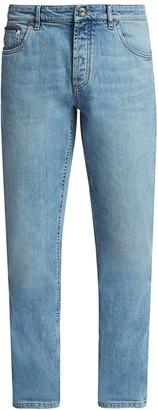 Brunello Cucinelli Cotton Stretch Jeans