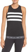 adidas Women's 3-Stripe Muscle Tank