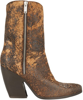 Golden Goose Chiodo Cowboy Boots