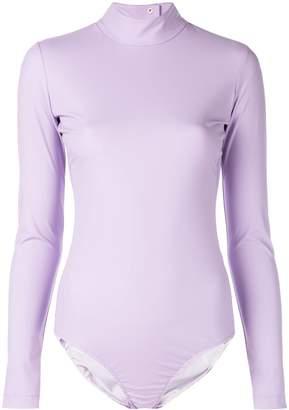 Tibi high neck scuba bodysuit