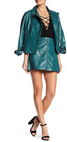 Muu Baa Muubaa Kalu Leather Skirt