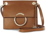 Karen Millen Small Leather O-ring Satchel - Tan