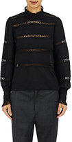 Etoile Isabel Marant Women's Victorian-Inspired Ria Top-BLACK
