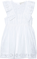 Stella McCartney White Embroidered Anglaise Dress
