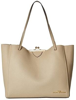 Marc Jacobs The Kisslock Tote (Blue Sea) Handbags