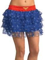 Rubie's Costume Co Rubie's DC Comics Justice League Superhero Style Teen Skirt with Sequins Wonder Woman