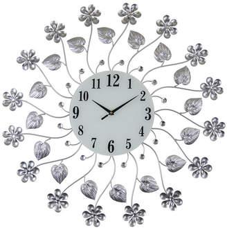 Orient Three Star Flowers Wall Clock