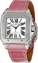 Cartier Men's W20126X8 Santos 100 Dial Watch