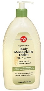 Walgreens Daily Moisturizing Lotion with Natural Collodial Oatmeal, Fragrance Free