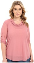 Roper Plus Size 0276 Solid Stretch Mesh