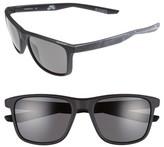 Nike Men's Unrest Se 57Mm Sunglasses - Matte Black/ Deep Pewter