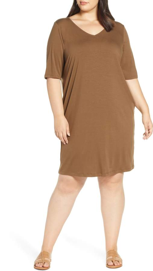 941a70791cd67 Eileen Fisher Plus Size Dresses - ShopStyle