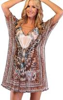 Ingear Drawstring Poncho Cover up
